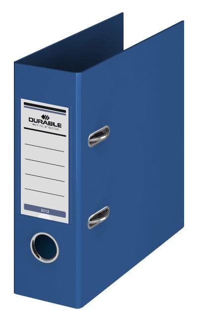 Папка-регистратор Durable 3112-07 A5 70мм ПВХ синий