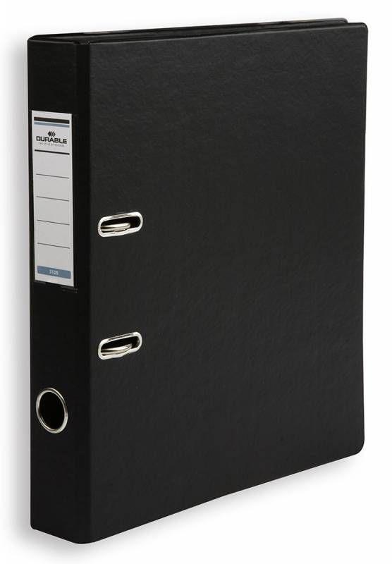 Папка-регистратор Durable 3120-01 A4 50мм ПВХ черный