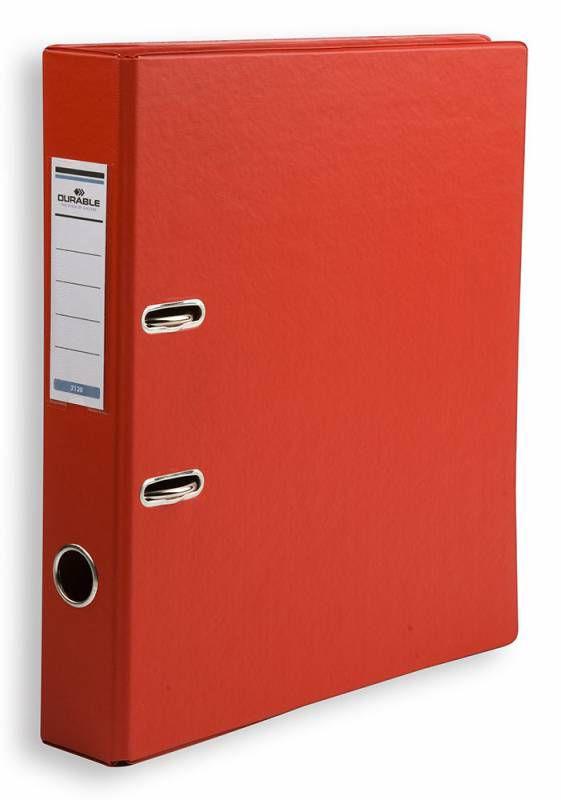Папка-регистратор Durable 3120-03 A4 50мм ПВХ красный