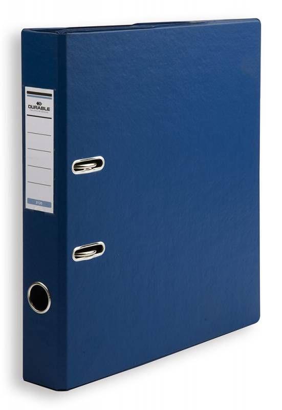 Папка-регистратор Durable 3120-07 A4 50мм ПВХ синий