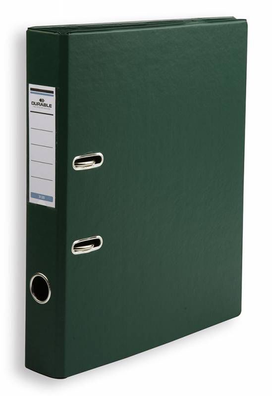 Папка-регистратор Durable 3120-32 A4 50мм ПВХ темно-зеленый