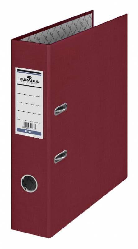 Папка-регистратор Durable 3210-31 A4 70мм бумвинил бордовый