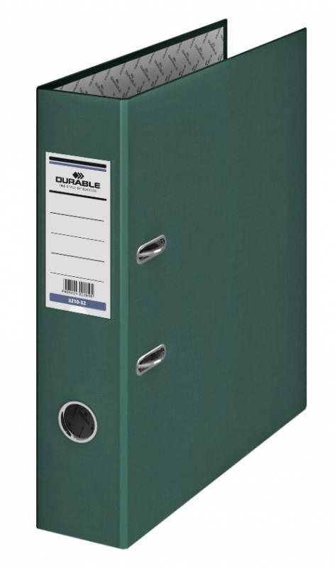Папка-регистратор Durable 3210-32 A4 70мм бумвинил темно-зеленый