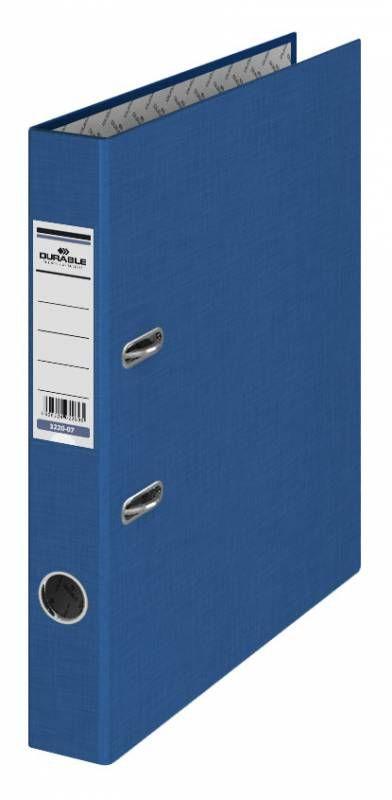 Папка-регистратор Durable 3220-07 A4 50мм бумвинил синий