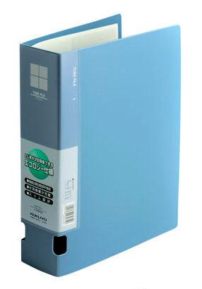 Папка-регистратор Kokuyo FU-F660NB A4 60мм пластик синий