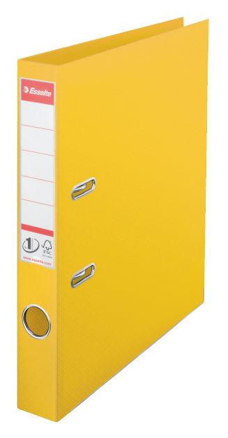 Папка-регистратор Esselte №1 Power 811410P A4 50мм пластик желтый