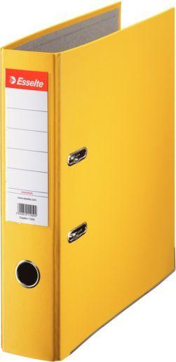 Папка-регистратор Esselte Economy 10782P A4 75мм ПВХ/бумага желтый