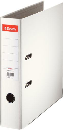 Папка-регистратор Esselte Economy 11250P A4 75мм ПВХ/бумага белый