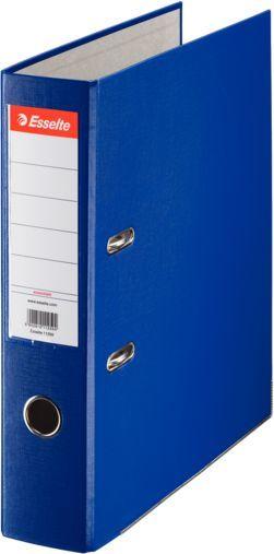 Папка-регистратор Esselte Economy 11255P A4 75мм ПВХ/бумага синий