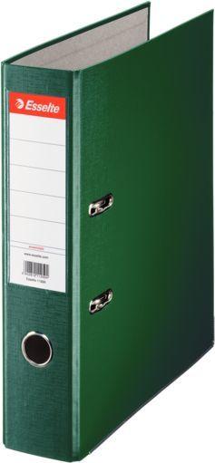 Папка-регистратор Esselte Economy 11256P A4 75мм ПВХ/бумага зеленый