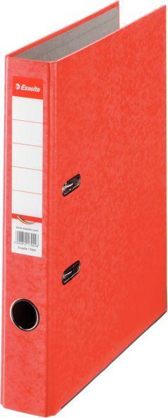 Папка-регистратор Esselte Rainbow 17921P A4 50мм картон красный