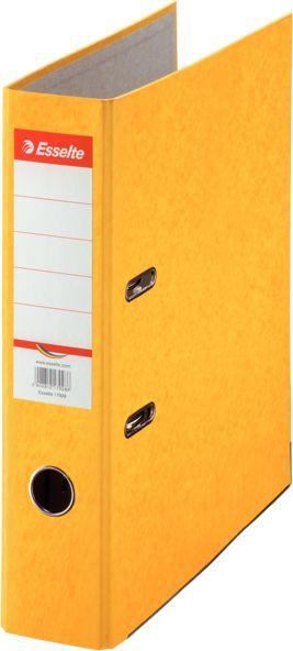Папка-регистратор Esselte Rainbow 17928P A4 75мм картон желтый