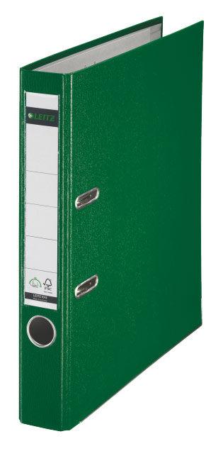 Папка-регистратор Leitz А4 80мм пластик синий 10101235P