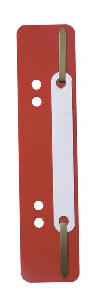 Скоросшиватель вставка Durable Flexi 690103 пластик красный (упак.:250шт)