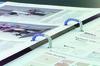 Папка на 2-х кольцах Kokuyo FU-PS410CL A4 пластик 0.75мм кор.21мм прозрачный вид 4