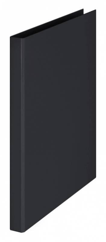 Папка на 4-х кольцах Durable 3170-01 A4 ПВХ кор.25мм торц.наклейка черный