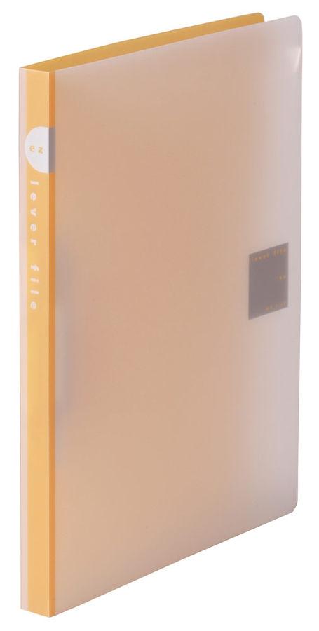 Папка с авт.зажим Kokuyo WE-FU320 YR A4 пластик 0.75мм оранжевый