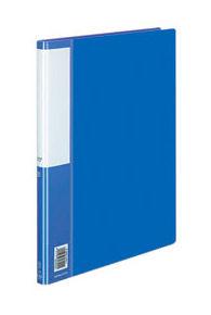 Папка с метал.зажим Kokuyo Posity P3(FU)-330B A4 пластик 0.7мм синий