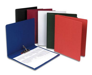 Папка с бок.зажим Durable 3301-01 A4 ПВХ черный