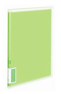 Папка с 10 прозр.вклад. Kokuyo Coloree RA-V10G A4 пластик 0.75мм светло-зеленый