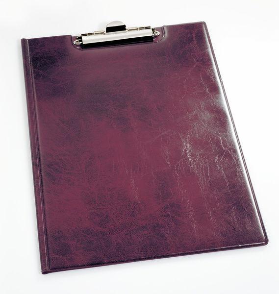 Папка клип-борд Durable Clipboard Folder 235503 A4 красный мрамор 2 внутр. кармана