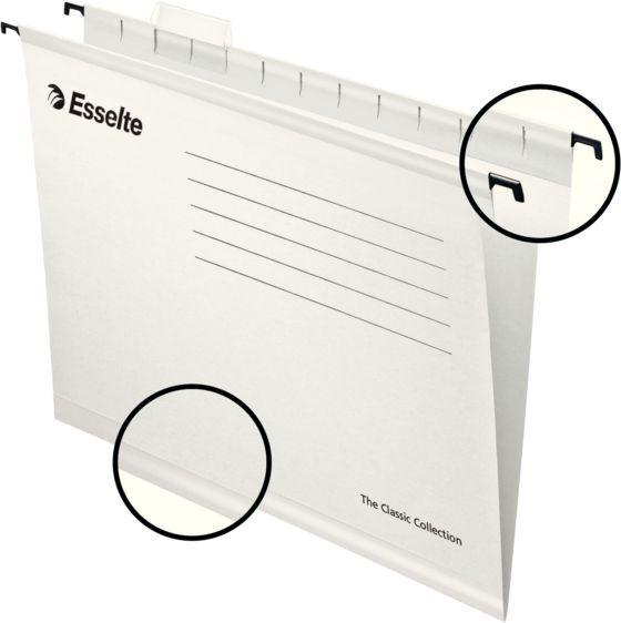 Папка подвесная Esselte Pendaflex ECO 90319 белый