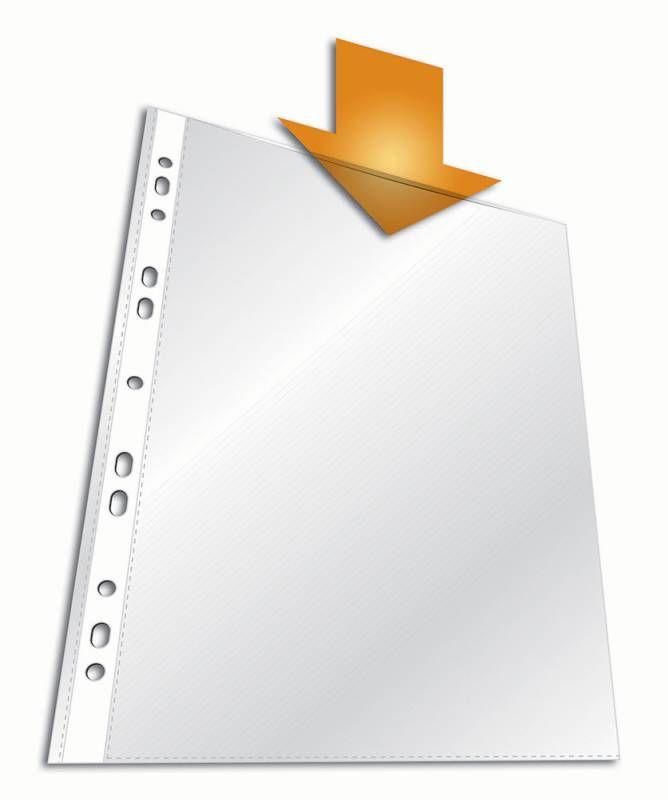 Папка-вкладыш Durable 2659-19 прозрачный матовые А4 вертикальный 35мкм (упак.:100шт)
