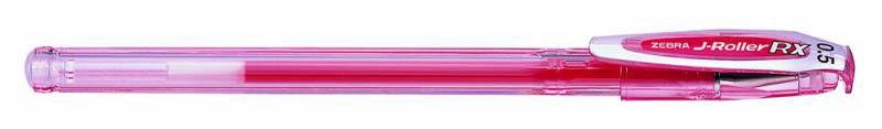 Ручка гелевая Zebra J-ROLLER RX (JJZ1-R) 0.5мм красный
