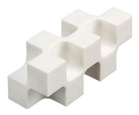 Ластик Kokuyo KESHI-U700 многогранный белый