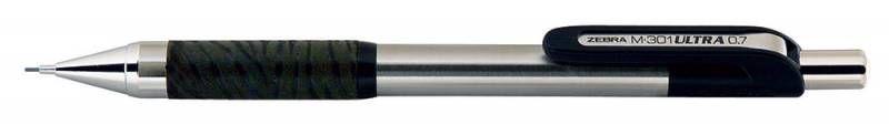 Карандаш механический Zebra M-301 ULTRA MNZ3-BK 0.5мм метал.корпус черные дет.отд.