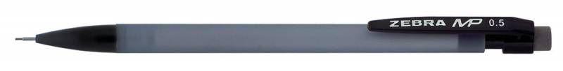 Карандаш механический Zebra MP 0.5мм серый
