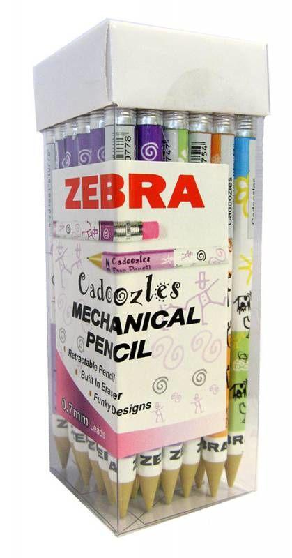 Карандаш механический Zebra FUN CADOOZLES 0.7мм ассорти
