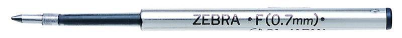 Стержень для шариковых ручек Zebra F (BR-1B-F-BL) 0.7мм синий