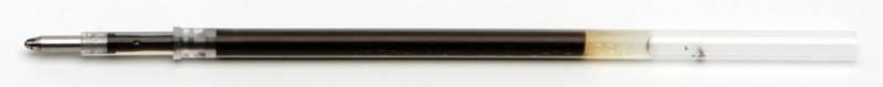 Стержень для шариковых ручек Zebra EQ (REQ7-BK) 0.7мм уникальные эмульсионные чернила черный