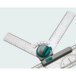 Чертежный узел Hebel Maul 6149801 двухсторонняя градуировка фиксация угла каждые 15 градусов в компл