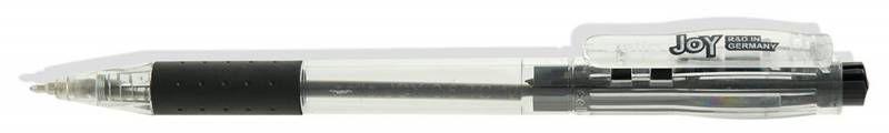 Ручка шариковая Cello JOY авт. 0.8мм черный индив. пакет с европодвесом