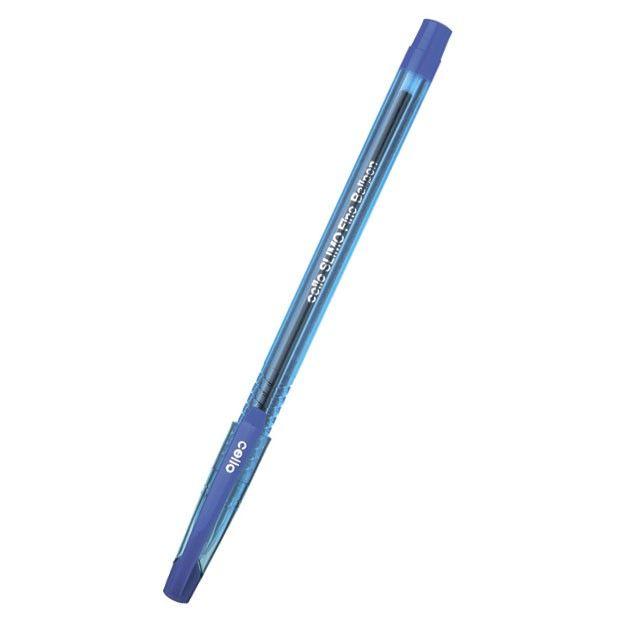 Ручка шариковая Cello SLIMO 1мм стреловидный пиш. наконечник синий коробка