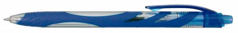 Ручка шариковая Zebra OLA (BP123-BL) авт. 1мм синий
