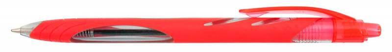 Ручка шариковая Zebra OLA (BP123-R) авт. 1мм красный