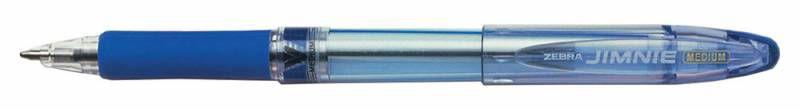 Ручка шариковая Zebra JIMNIE (RB-M100-BL) 1мм резин. манжета синий