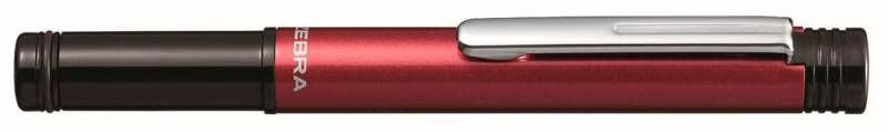 Ручка шариковая Zebra M-5 (C-BA1-R) 0.7мм корпус металл/пластик бордовый синие чернила