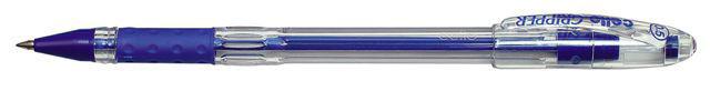 Ручка шариковая Cello GRIPPER 0.5мм синий индив. пакет с европодвесом