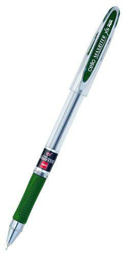 Ручка шариковая Cello MAXRITER XS 0.7мм зеленый индив. пакет с европодвесом