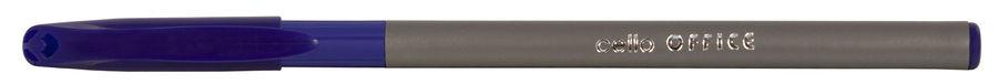 Ручка шариковая Cello OFFICE COMFI-GRIP однораз. 0.7мм серебристый синие чернила коробка