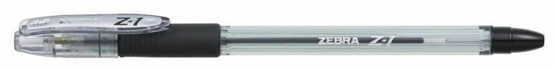 Ручка шариковая Zebra Z-1 (BP074-BK) 0.7мм черный