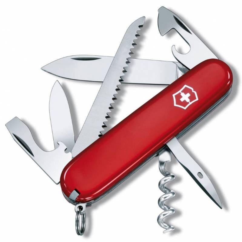 Складной нож VICTORINOX Camper, 13 функций,  91мм, красный  [1.3613]