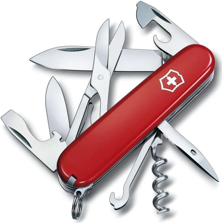 Складной нож VICTORINOX Climber, 14 функций,  91мм, красный