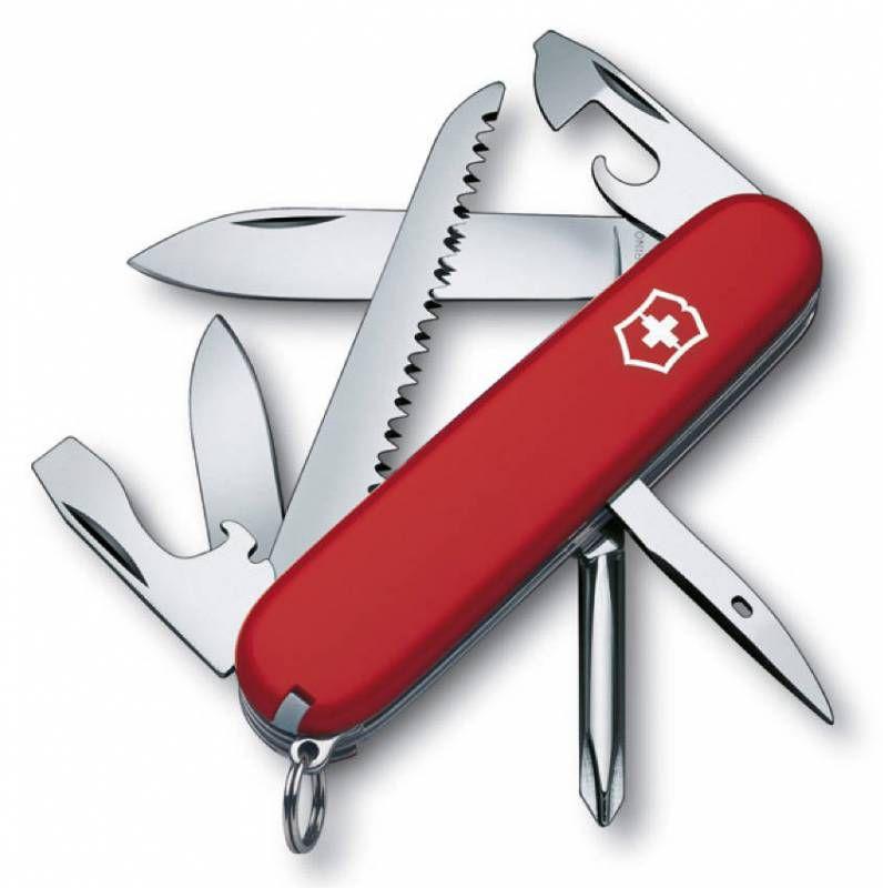 Нож перочинный Victorinox Hiker (1.4613) 91мм 13функций красный карт.коробка