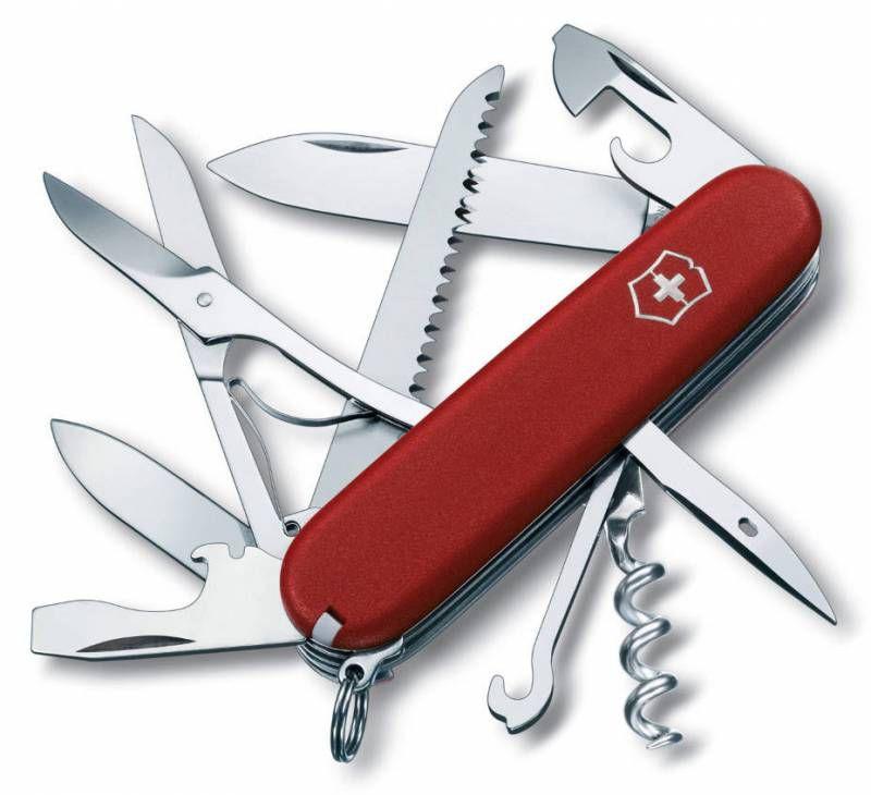 Складной нож VICTORINOX Ecoline, 15 функций,  91мм, красный  [3.3713]