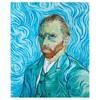 Ручка эко-роллер Visconti Van Gogh 2011 Автопортрет (78525) голубой подар.кор. вид 2